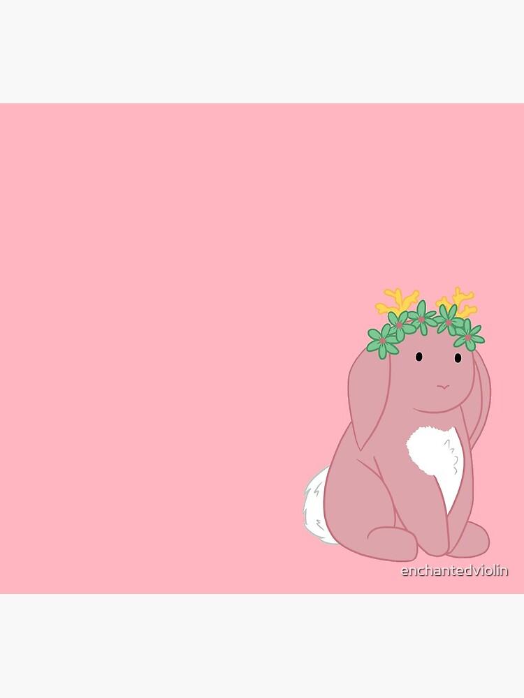 Pink Spring Festival Jackalope by enchantedviolin