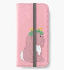 Pink Spring Festival Jackalope iPhone Wallet/Case/Skin
