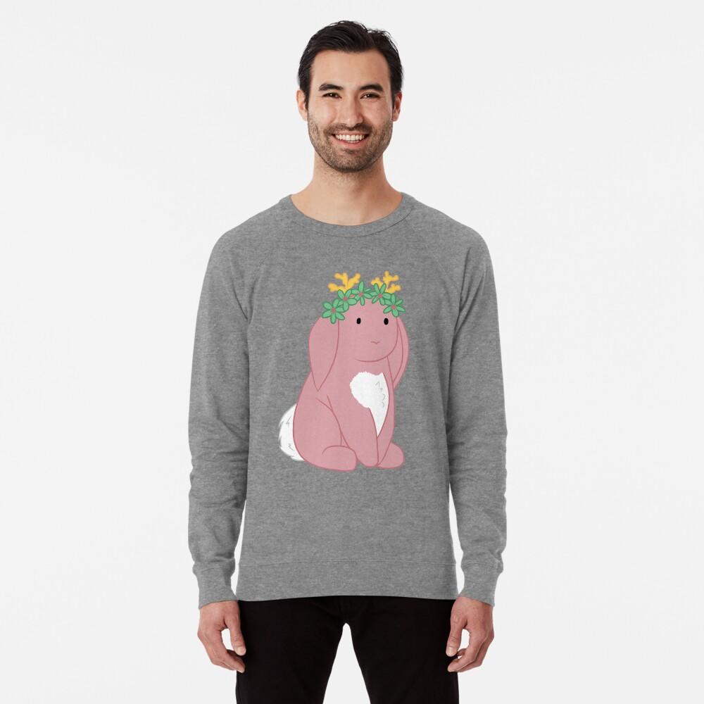 Pink Spring Festival Jackalope Lightweight Sweatshirt