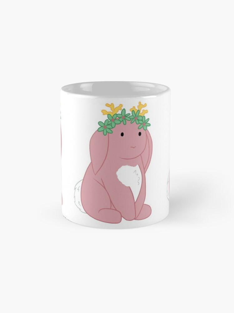 Alternate view of Pink Spring Festival Jackalope Mug