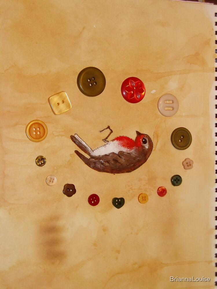 dead robin by BriannaLouise
