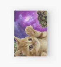 Space kitten  Hardcover Journal