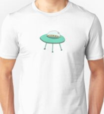 Intergalactic transportation Unisex T-Shirt