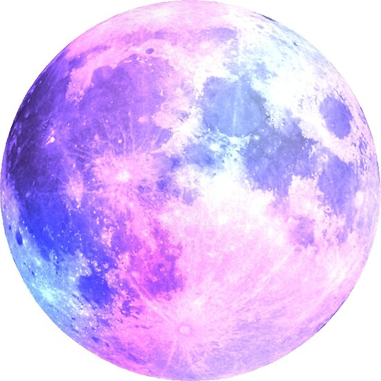 Quot Watercolor Purple Moon Quot Poster By Aterkaderk Redbubble