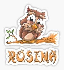 Rosina Owl Sticker