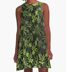 lit print A-Line Dress