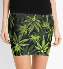 Sea of Green Mini Skirt