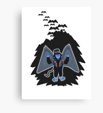 whatever happened to those cute flying monkeys? Canvas Print