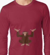 Just happy to be able to provide support Long Sleeve T-Shirt