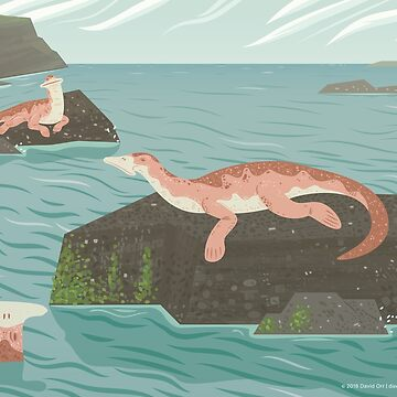 Atopodentatus by the Sea by anatotitan