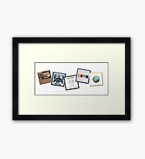 Jason Mraz Album Artwork Collage Framed Print