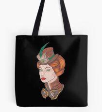 Steampunk girl Tote Bag
