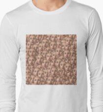The Face of Karl Pilkington Long Sleeve T-Shirt