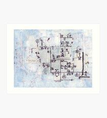 System Degradation Art Print