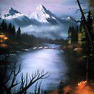 Alaskan Autumn by VernaCoy