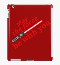 Star wars - Red lightsaber iPad Case/Skin