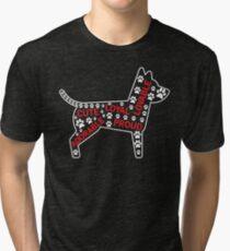 Cute Loyal Proud Dog Lover T-shirt Tri-blend T-Shirt