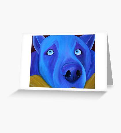 I feel so blue Greeting Card