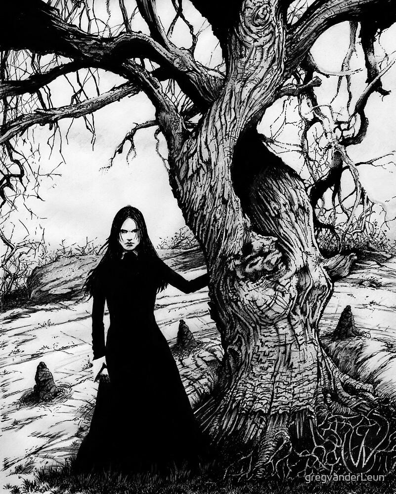 Witch Tree by gregvanderLeun