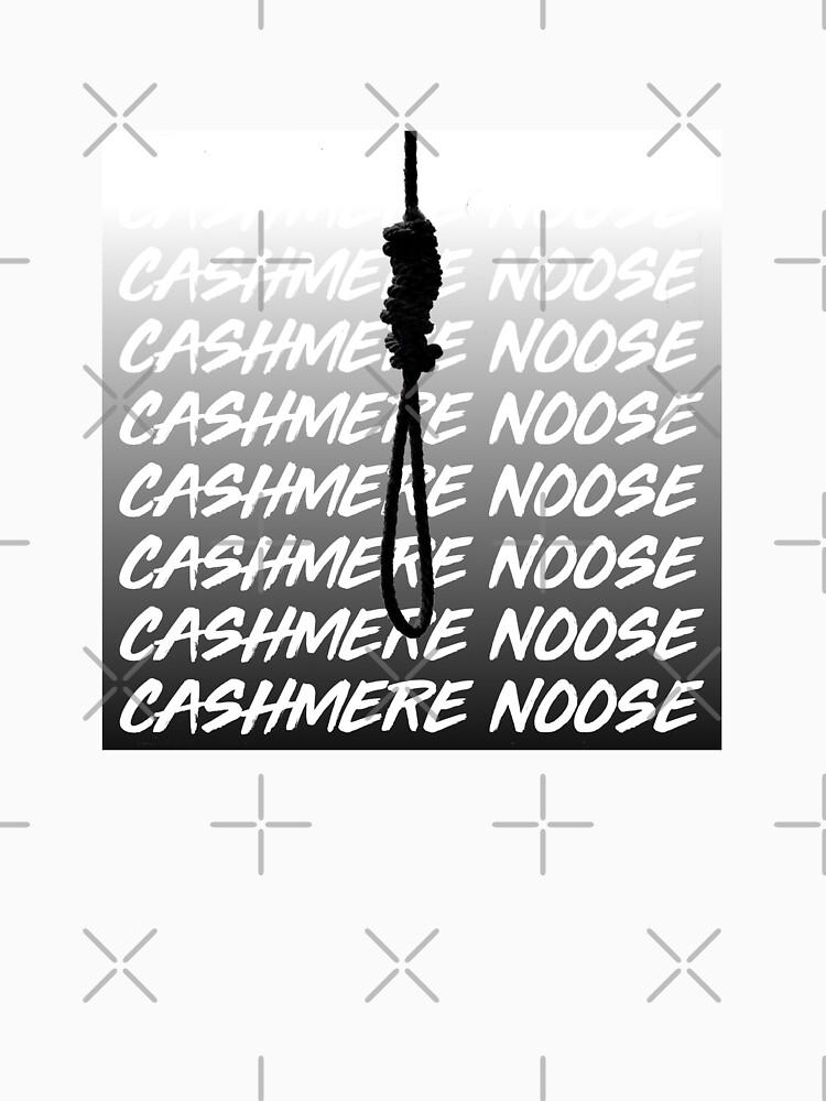 blackbear cashmere noose classic t shirt by ryanmckane redbubble