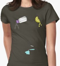 Lick, Sip, Suck Womens Fitted T-Shirt
