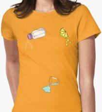 Lick, Sip, Suck Women's Fitted T-Shirt