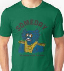 Merman He Man: Someday Villains Have To Win Camiseta unisex