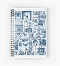 Types of photo cameras Spiral Notebook