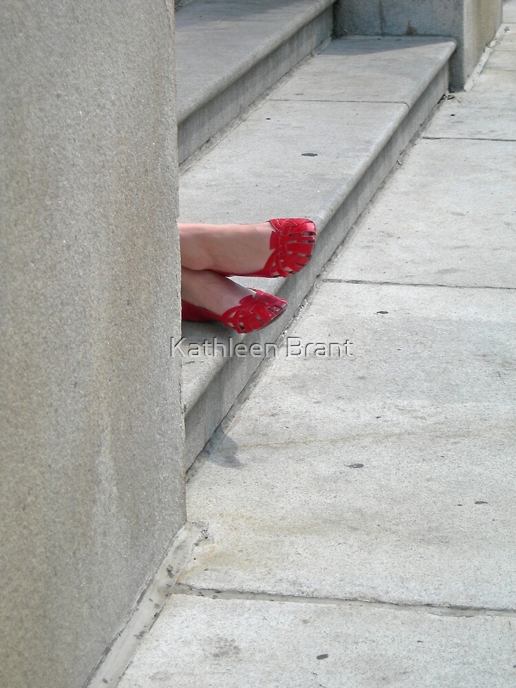 Temptation in Red Shoes by Kathleen Brant
