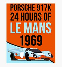 Le Mans 1969 Photographic Print
