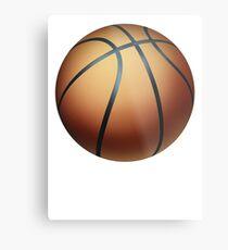 Basketball 1 Metal Print
