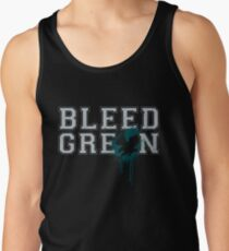 Bleed Green Philadelphia Eagles Football Fly Eagles Fly Tee Tank Top