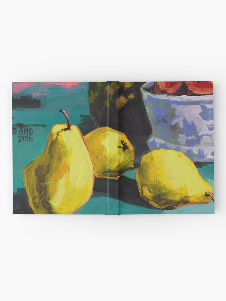 Alternate view of Still life with pears and pineapple Hardcover Journal