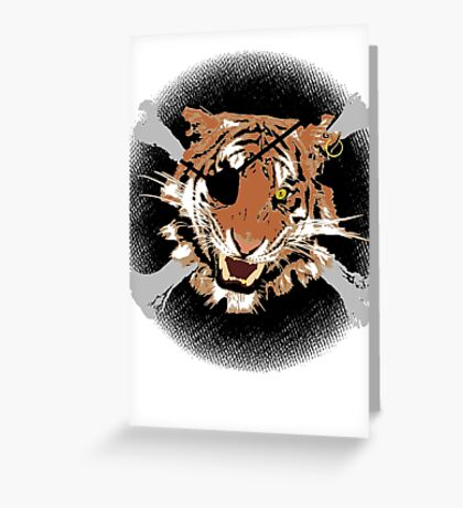 Jungle Piracy Greeting Card