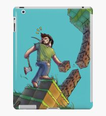 Minecraft Animation Tree Cutter iPad Case/Skin