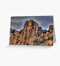 Dragoon Mountains Greeting Card
