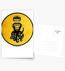 King Octochimp Says Hi Postcards