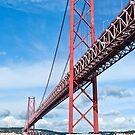 Ponte 25 de Abril, Lisbon by Sue Knowles
