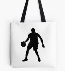 Basketball Player Silhouette 1 Tote Bag