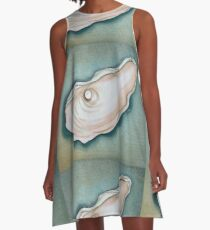 Pearl in Oyster Shell A-Line Dress