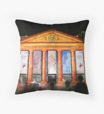 North Terrace, Adelaide Throw Pillow
