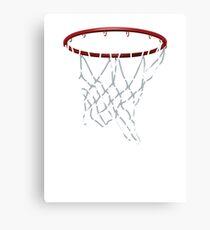 Basketball Hoop Net Canvas Print