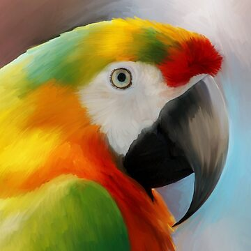 Parrot Art work by nanti