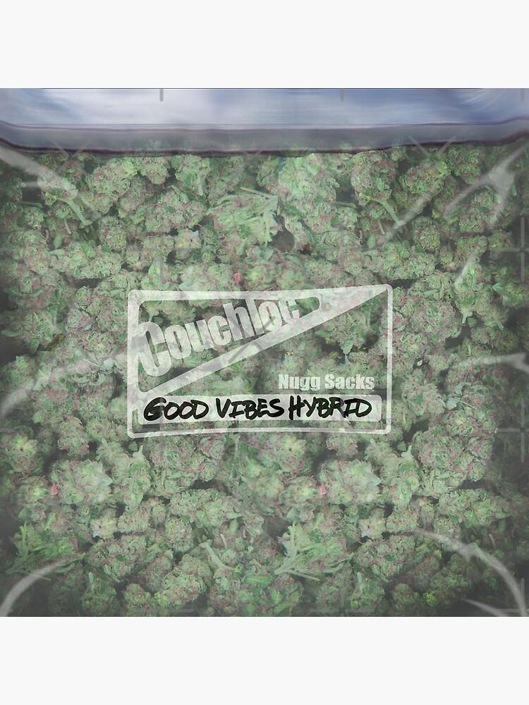 La almohada Big Bag of Weed de kushcoast