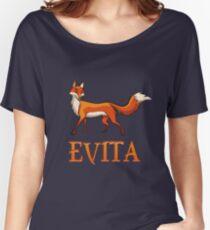 Evita Fox Women's Relaxed Fit T-Shirt