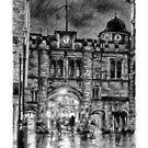 """Stonebow,  Linccoln UK"" by ChrisWilsonArt"