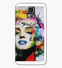 Unvollkommenheit ist Schönheit Hülle & Klebefolie für Samsung Galaxy