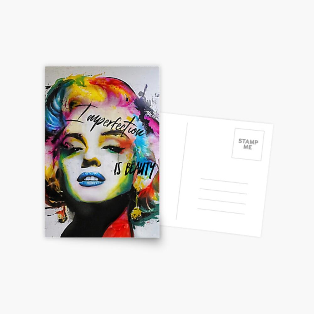 Imperfection is Beauty Postcard