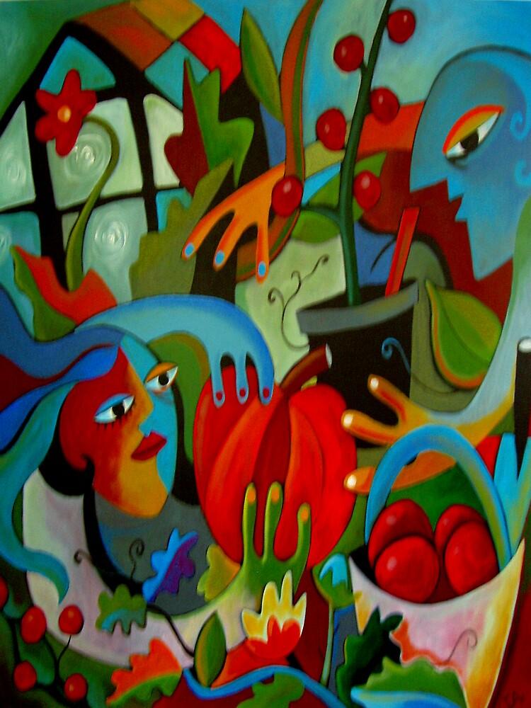 Glasshouse Glory by INGRID  ANDERSEN