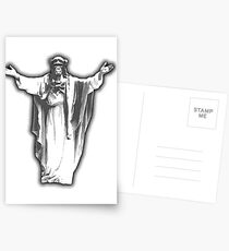 Jesus Chimp Postcards